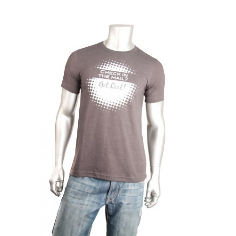 """""""Check In the Mail"""" Short Sleeve T-Shirt"""