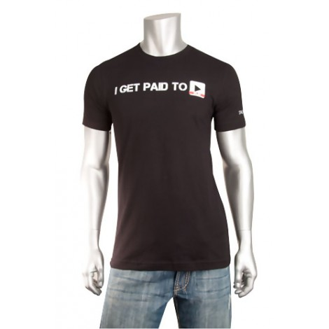 """I Get Paid to Play"" Short Sleeve T-Shirt"