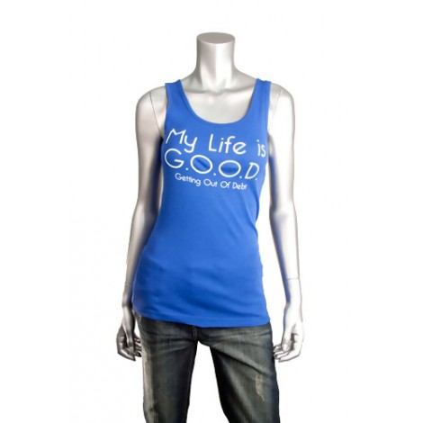 "Talk Fusion Women's ""My Life is Good"" Tank Top"