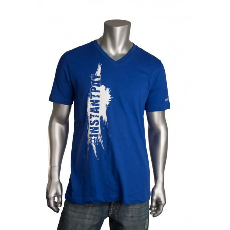"Men's V Neck ""Instant Pay"" T-Shirt"