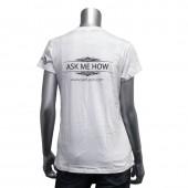 """Women's V Neck """"Living My Dream"""" T-Shirt"""