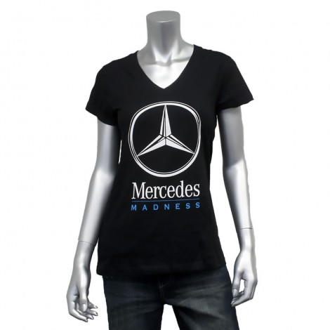 "Women's V Neck ""Mercedes Madness"" T-Shirt"