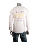 "Talk Fusion Men's ""Dream Live Connect"" Long Sleeve T-Shirt"