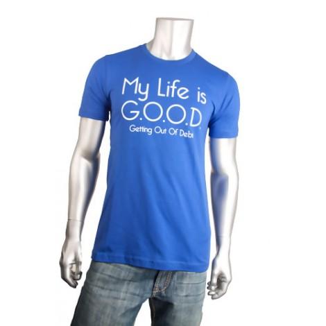 """Life is Good"" Short Sleeve T-Shirt"