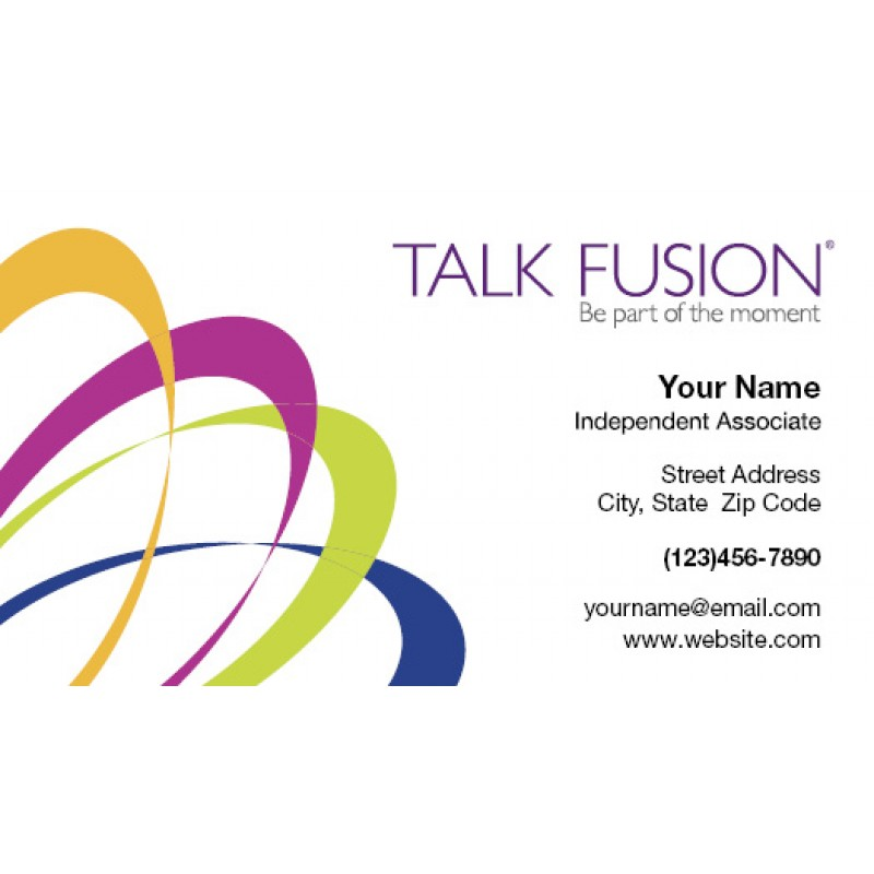 Fusion Two-Sided Glossy Business Card 1 (pack of 250)
