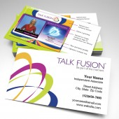 Talk Fusion Two-Sided Glossy Business Card 1 (pack of 250)