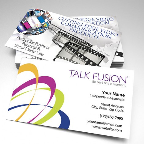 Talk Fusion Two-Sided Glossy Business Card 2 (pack of 250)