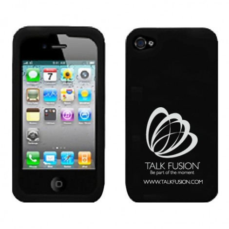 Talk Fusion Single-Logo iPhone 4/4S Case