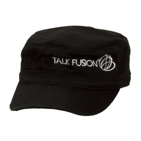 Talk Fusion Women's Military Hat