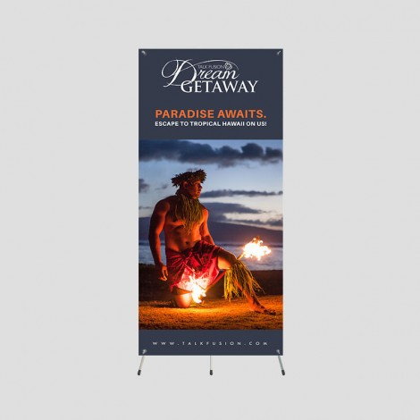 Dream Getaway - 5ft Grasshopper Banner
