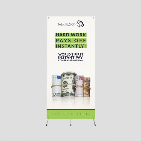 Instant Pay - 5ft Grasshopper Banner