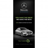 Mercedes Madness - 5ft Grasshopper Banner