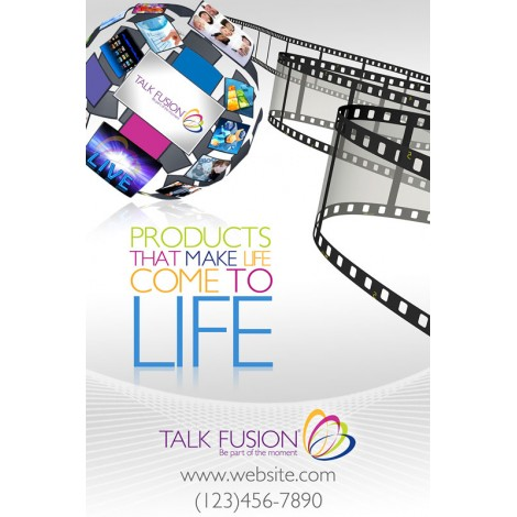 """Products that Make Life Come to Life"" Customizable 12"" x 18"" Poster"