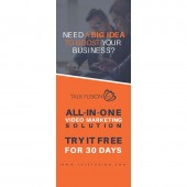 BIG IDEA - 6.5ft Retractable Banner