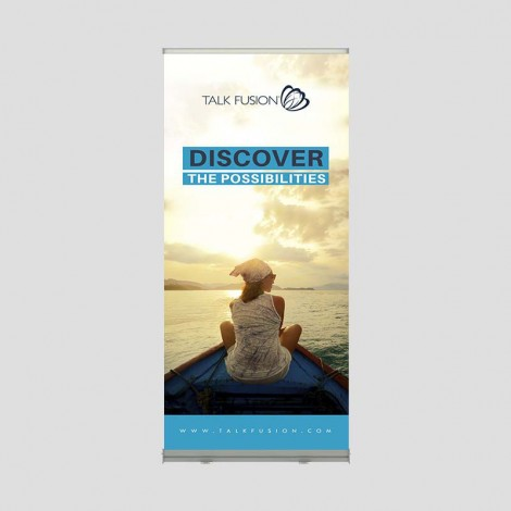 Discover the Possibilities - 6.5ft Retractable Banner