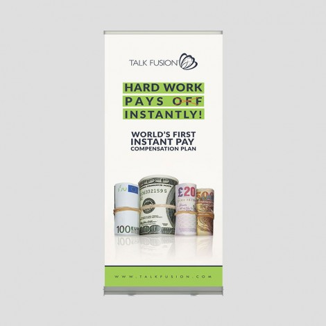 Instant Pay - 6.5ft Retractable Banner