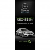 Mercedes Madness - 6.5ft Retractable Banner