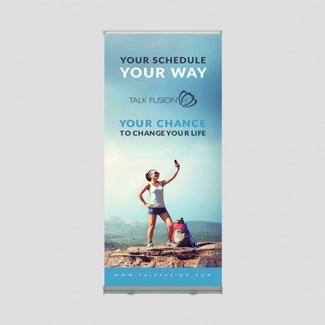 Change Your Life - 6.5ft Retractable Banner